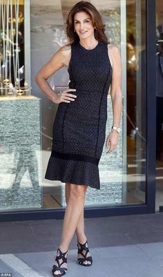 Fabulous at fifty! Cyndi Crawford