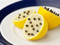 Sivrisineklerden korunmak için, limon ve karanfil ikilisini kullanabilirsiniz.