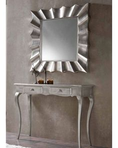 Modern Console Tables And Mirrors