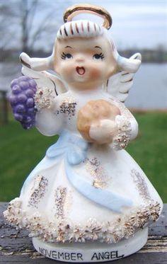 Vintage LEFTON Ceramic NOVEMBER ANGEL Figurine AR1987 PIGTAILS PUMPKIN GRAPES  pic.twitter.com/XnsrSnFEcN http://www.ebay.com/itm/Vintage-LEFTON-Ceramic-NOVEMBER-ANGEL-Figurine-AR1987-PIGTAILS-PUMPKIN-GRAPES-/160678222376?