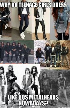 They do! I thought I was the only one who noticed it. Maybe because I am a teenage girl...but I don't dress like that