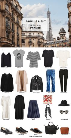 If you are wondering what to pack for France in autumn for 12 days, you can see some ideas here. What to Pack for France Packing Light List | What to pack for the Europe l | What to Pack for autumn | Packing Light | Packing List | Travel Light | Travel Wardrobe | Travel Capsule | Capsule |
