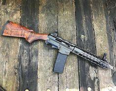 "341 отметок «Нравится», 3 комментариев — Randy Madruga (@hyperiousx) в Instagram: «@Regrann from @jessejamesfirearms -  Full side shot of the #JJFU Nomad ""Califas"" Side-Charger SBR.…»"