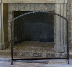 Metal Fireplace Screens   Rustic Fireplace Screens   Decorative Fireplace Screens Antique Farmhouse