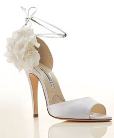 5f6e9ab40ac7 Sandali da sposa Aurora Brian Atwood. Crystal   Rose Blossoms · Bridal Shoes