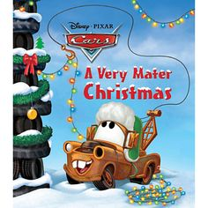 A Very Mater Christmas Book - Cars