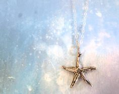 Under the Sea Sterling Silver Starfish by RenataandJonathan