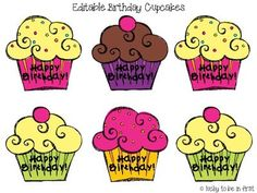 Birthday Treats for Your Students!
