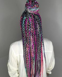 Vibrant Hairstyle With Box Braids #TraditionalAfricanHairstyles Box Braid Hair, Blonde Box Braids, Short Box Braids, Jumbo Box Braids, Hair Twists, Small Braids, Long Braids, Black Braids, Hair Updo