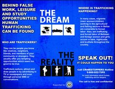 IOM HUMAN TRAFFICKING CAMPAIGN BROCHURE (inside): If you are interested in getting a custom design, printing or just want to know more about TAS Belize, contact us.. (501) 822-0011 / (501) 637-4921 / info@tasbelize.com / www.tasbelize.com