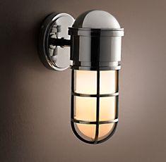 1000 Images About Vanity Bathroom Lights On Pinterest Restoration Hardware Sconces And