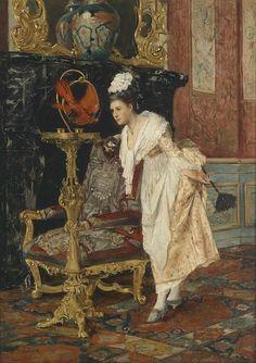 Hedwig Öhring - Parrot & Maid Dusting (sort-of)