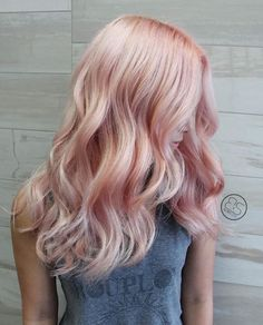 Sheer peach. Using everything schwarkopf! @schwarzkopfusa