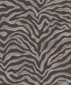 - Natural FX Beige & Black Zebra stripe effect pattern Galerie Wallpaper Zebra Print Wallpaper, New Wallpaper, Brown Home Decor, Zebras, Animal Print Rug, Poster Prints, Tapestry, Texture, Home