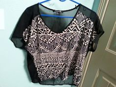 Forever 21 crop top, size medium