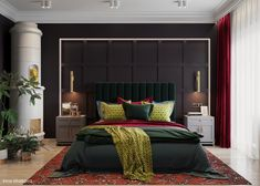 51 Luxury Bedrooms With Images, Tips & Accessories To Help You Design Yours - Archi-Moze Luxury Bedroom Furniture, Luxury Bedroom Design, Luxury Home Decor, Home Decor Bedroom, Home Interior Design, Living Room Decor, Bedroom Designs, Interior Decorating, Decorating Ideas