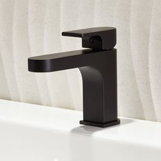 The Lyndon single handle bathroom faucet from DXV is ideal for a contemporary bathroom. It is part of the Lyndon Collection, inspired by contemporary furniture design with simple elegance and restrained style. Single Handle Bathroom Faucet, Bathroom Faucets, Contemporary Bathrooms, Contemporary Furniture, Simple Elegance, Plumbing, Toilet, Furniture Design, Sink
