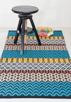 Weaving Designs, Weaving Patterns, Rug Inspiration, Weaving Textiles, Recycled Fabric, Carpet Runner, Woven Rug, Rug Making, Scandinavian Style