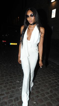 b462ef45d815 5 17 18 Naomi Campbell Dressed Down Her Bianca Jagger-Inspired Jumpsuit With