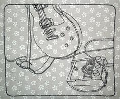 Les Paul & Big Muff by Judith Pudden, via Flickr