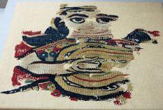 Early Islamic tapestry fragment, Egypt, 8th-9th century Benaki Museum of Islamic Art, Athens