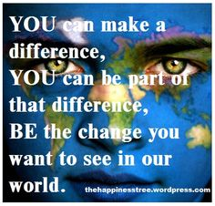 Making a Difference.....