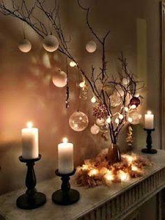 13 Ideas de cómo hacer arreglos navideños con esferas ~ Mimundomanual