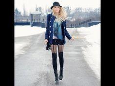 MERI WILD's Winter 2012 Looks (lookbook) #lookbook #fashion #style #outfits #Looks #ootd