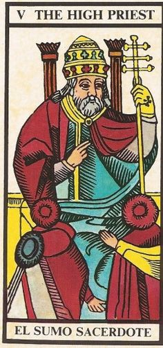 Arcano V - O Papa Carta Tarot para 04-11-2014 Hoje as energias apelam à compreensão e ao entendimento entre as pessoas. É preciso assumirmos uma posição ve