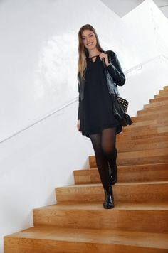 All Black Outfit All Black Outfit, Mode Inspiration, Lifestyle Blog, Cold Shoulder Dress, Outfits, Dresses, Fashion, Vestidos, Moda