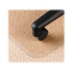 Deflecto Anti Static Low Pile Beveled Edge Chair Mat Size: 0.