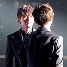 Fan Art of Ryeowook hugging Yesung for fans of Super Junior. ¡AY! ¡Q LINDOS DE VEN!