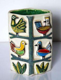 Vase, Designed by Tunsi Girard, c.1960's