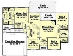 #654623 - Essence : House Plans, Floor Plans, Home Plans, Plan It at HousePlanIt.com