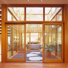 Atrium Design, Pictures, Remodel, Decor and Ideas Design Exterior, Modern Exterior, Interior And Exterior, Atrium Design, Courtyard Design, Modern Courtyard, Garden Design, Casa Atrium, Atrium Homes