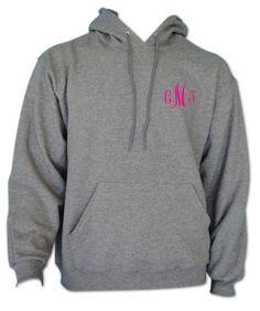 Monogrammed Hoodie Sweatshirt 30 Colors to Choose by AnnaMaeDesign, $34.95
