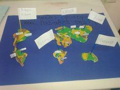 Όλες οι ήπειροι από πλαστελίνη! Education, Games, Logos, Gaming, A Logo, Educational Illustrations, Learning, Onderwijs, Game