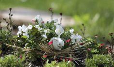 Liebevolle Details. Impressionen vom Dreifaltigkeitsfriedhof in Schwäbisch Gmünd.