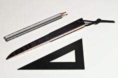 Burnt Letter Opener by AtelierDmontreal on Etsy