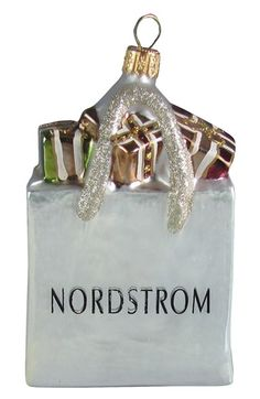 Nordstrom at Home Nordstrom Shopping Bag Ornament available at #Nordstrom