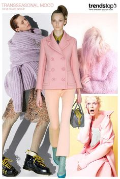 Fall-Winter 2016/2017 fashion trends: Candy Pastels