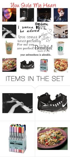 """You Stole My Heart"" by carrie-lynn ❤ liked on Polyvore featuring art"