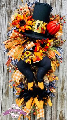 Thanksgiving Wreaths, Autumn Wreaths, Wreath Fall, Fall Yard Decor, Fall Door Decorations, Scarecrow Wreath, Witch Wreath, Turkey Wreath, Pumpkin Wreath