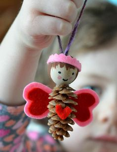 """One of our friends came over with pinecones in her pocket…   thinking they would inspire a little """"something or other""""…and they did!..."""