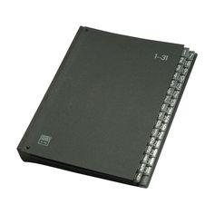 Elba 42418SW Trieur à documents 1-31 (Noir): Amazon.fr: Fournitures de bureau
