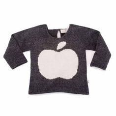 "Oeuf NYC Sweater aus Babyalpaka ""Apfel"""