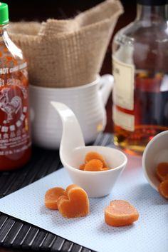Whiskey Sriracha candy