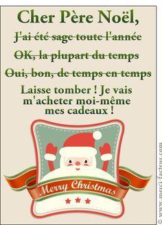 Carte Cher Père Noël j'ai été sage pour envoyer par La Poste, sur Merci-Facteur ! Carte Carte d'identité du Père Noël pour envoyer par La Poste, sur Merci-Facteur ! Les 10 cartes de Noël les plus amusantes, la 5ème est particulièrement décalée... : http://www.merci-facteur.com/noel-humour/les-10-cartes-noel-plus-amusantes-5eme-est--e349.html Vous avez aimé ? Partagez ce post :) #Carte #Noël #Humour #rire #papaNoël #pèreNoël