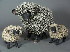Sheep Sculpture—— Ceramic sheep sculpture by Cathy Meincer – Ceramic Art, Ceramic Pottery Pottery Animals, Ceramic Animals, Clay Animals, Pottery Sculpture, Sculpture Clay, Ceramic Clay, Ceramic Pottery, Cerámica Ideas, Sheep Crafts