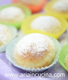 Blog di cucina di Aria: Mini bomboloni al forno con nocciolata